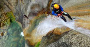canyoning in corsica la purcarraccia e il canyon de la vacca recovery energy Recovery Energy | Experience Emotions Canyoning Lazio, Abruzzo, Umbria. Escursionismo e Survival Blog