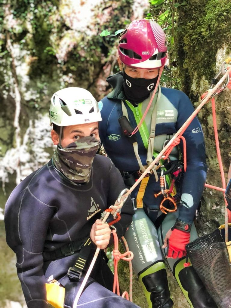 canyoning riancoli recovery energy roma Recovery Energy | Experience Emotions Canyoning Lazio, Abruzzo, Umbria. Escursionismo e Survival Canyoning nel Lazio: siamo tornati a pieno regime!