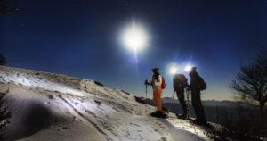 ciaspolate neve notturne lazio monti simbruini recovery energy Recovery Energy | Experience Emotions Canyoning Lazio, Abruzzo, Umbria. Escursionismo e Survival Blog