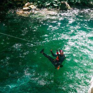 canyoning aniene Recovery Energy | Experience Emotions Canyoning Lazio, Abruzzo, Umbria. Escursionismo e Survival Il Laghetto di San Benedetto a Subiaco