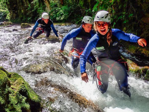 torrentismo aniene Recovery Energy | Experience Emotions Canyoning Lazio, Abruzzo, Umbria. Escursionismo e Survival Canyoning all'Aniene