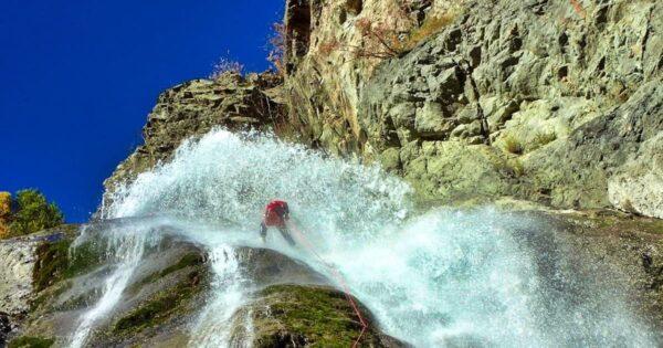 advanced canyoneer corso avanzato torrentismo canyoning recovery energy Recovery Energy | Experience Emotions Canyoning Lazio, Abruzzo, Umbria. Escursionismo e Survival Corso Avanzato di Canyoning Italia