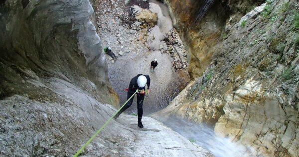 canyoning fossaceca abruzzo gran sasso teramo recovery energy Recovery Energy | Experience Emotions Canyoning Lazio, Abruzzo, Umbria. Escursionismo e Survival Canyoning a Fossaceca