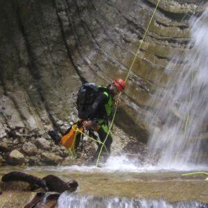 canyoning torrentismo abruzzo gran sasso teramo fossaceca recovery energy Recovery Energy | Experience Emotions Canyoning Lazio, Abruzzo, Umbria. Escursionismo e Survival Gran Sasso