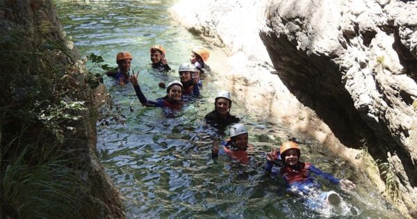 canyoning torrentismo laboratori didattici scuole recovery energy Recovery Energy | Experience Emotions Canyoning Lazio, Abruzzo, Umbria. Escursionismo e Survival Canyoning