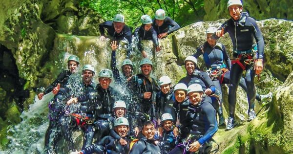 canyoning torrentismo lazio abruzzo riancoli recovery energy Recovery Energy | Experience Emotions Canyoning Lazio, Abruzzo, Umbria. Escursionismo e Survival Canyoning a Riancoli