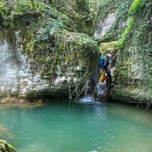 canyoning torrentismo rieti lazio fosso della mola recovery energy Recovery Energy | Experience Emotions Canyoning Lazio, Abruzzo, Umbria. Escursionismo e Survival Rieti