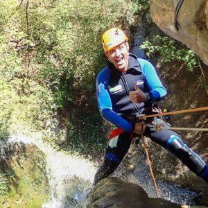 canyoning torrentismo umbria casco perugia scheggino Recovery Energy | Experience Emotions Canyoning Lazio, Abruzzo, Umbria. Escursionismo e Survival Cascata delle Marmore