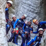 canyoning torrentismo umbria perugia casco Recovery Energy | Experience Emotions Canyoning Lazio, Abruzzo, Umbria. Escursionismo e Survival Canyoning a Forra del Casco