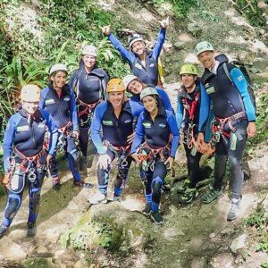 canyoning torrentismo umbria perugia scheggino casco Recovery Energy | Experience Emotions Canyoning Lazio, Abruzzo, Umbria. Escursionismo e Survival Cascata delle Marmore