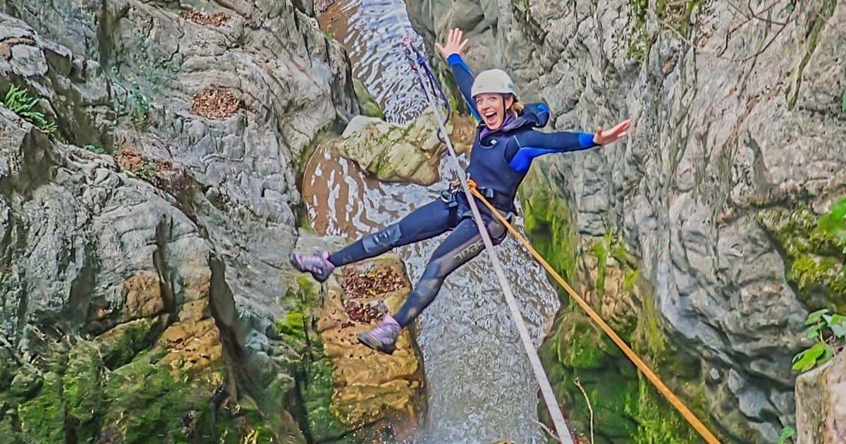 canyoning torrentismo umbria perugia scheggino recovery energy Recovery Energy | Experience Emotions Canyoning Lazio, Abruzzo, Umbria. Escursionismo e Survival Canyoning Torrentismo
