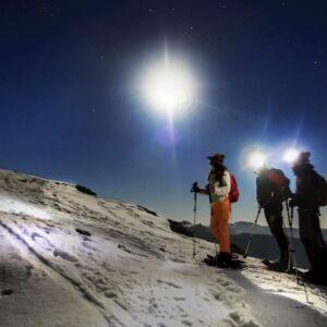 ciaspolata notturna monte autore simbruini lazio recovery energy Recovery Energy | Experience Emotions Canyoning Lazio, Abruzzo, Umbria. Escursionismo e Survival La Valle dell'Aniene e i Monti Simbruini