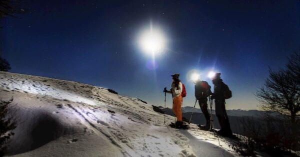 ciaspolata notturna monte autore simbruini lazio recovery energy Recovery Energy | Experience Emotions Canyoning Lazio, Abruzzo, Umbria. Escursionismo e Survival Ciaspolata Notturna