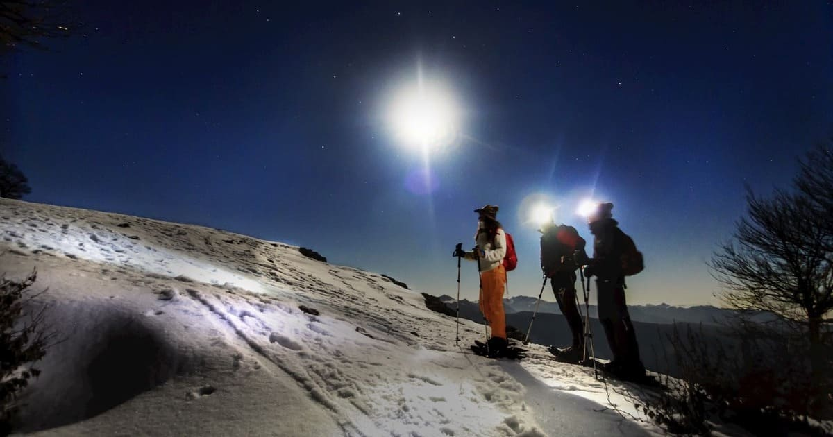ciaspolata notturna monte autore simbruini lazio recovery energy Recovery Energy | Experience Emotions Canyoning Lazio, Abruzzo, Umbria. Escursionismo e Survival Trekking & Ciaspolate