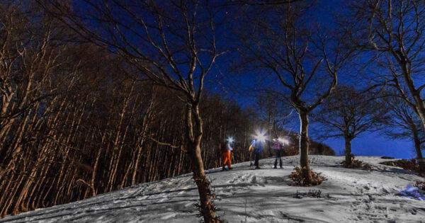 ciaspolata notturna tramonto monte autore simbruini lazio recovery energy Recovery Energy | Experience Emotions Canyoning Lazio, Abruzzo, Umbria. Escursionismo e Survival Ciaspolata al Tramonto