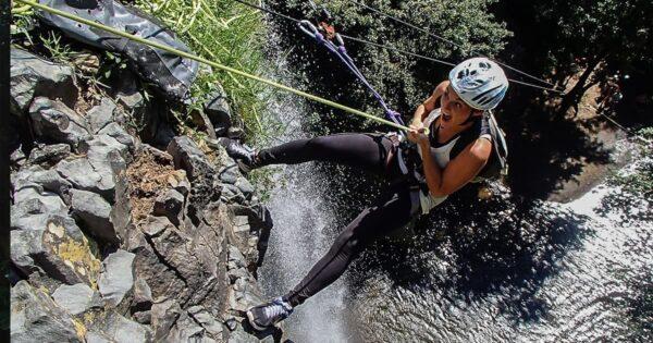 giornata avventura cascata della mola eventi speciali recovery energy Recovery Energy | Experience Emotions Canyoning Lazio, Abruzzo, Umbria. Escursionismo e Survival Giornata Avventura alla Cascata della Mola