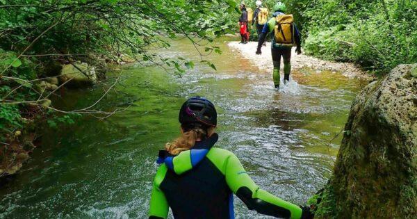 river trekking farfa lazio rieti recovery energy Recovery Energy | Experience Emotions Canyoning Lazio, Abruzzo, Umbria. Escursionismo e Survival River Trekking a Farfa