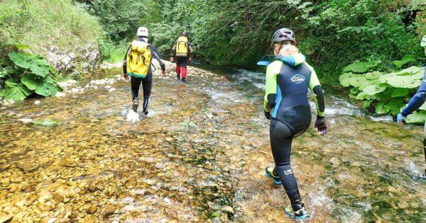 river trekking lazio farfa rieti recovery energy Recovery Energy | Experience Emotions Canyoning Lazio, Abruzzo, Umbria. Escursionismo e Survival River Trekking a Farfa