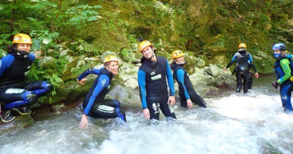 river trekking lazio rieti farfa recovery energy Recovery Energy | Experience Emotions Canyoning Lazio, Abruzzo, Umbria. Escursionismo e Survival River Trekking a Farfa
