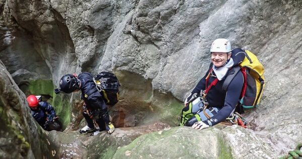 torrentismo canyoning umbria perugia scheggino recovery energy Recovery Energy | Experience Emotions Canyoning Lazio, Abruzzo, Umbria. Escursionismo e Survival Canyoning a Roccagelli