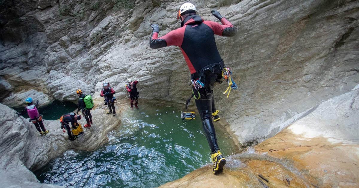torrentismo umbria canyoning prodo fosso campione orvieto Recovery Energy | Experience Emotions Canyoning Lazio, Abruzzo, Umbria. Escursionismo e Survival Canyoning Torrentismo