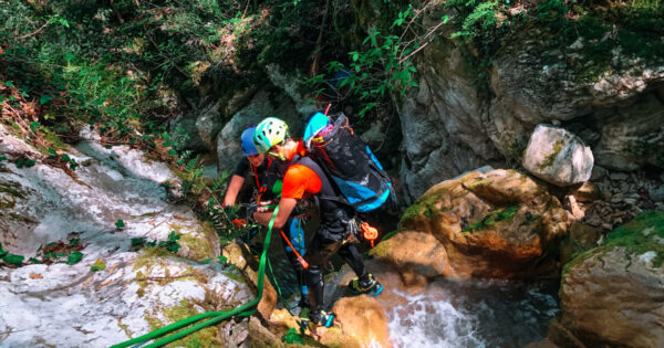 canyoning turano serendipity 1 Recovery Energy | Experience Emotions Canyoning Lazio, Abruzzo, Umbria. Escursionismo e Survival Canyoning Serendipity