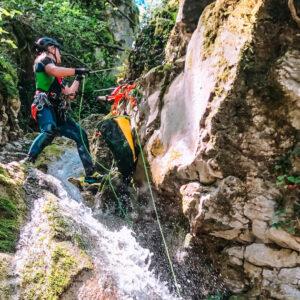 canyoning turano serendipity 2 Recovery Energy | Experience Emotions Canyoning Lazio, Abruzzo, Umbria. Escursionismo e Survival Il Lago del Turano
