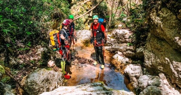 canyoning turano serendipity 3 Recovery Energy | Experience Emotions Canyoning Lazio, Abruzzo, Umbria. Escursionismo e Survival Canyoning Serendipity
