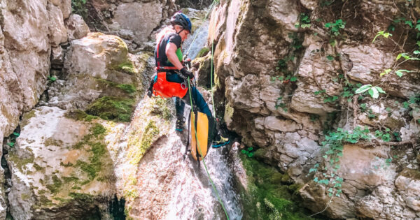 canyoning turano serendipity 4 Recovery Energy   Experience Emotions Canyoning Lazio, Abruzzo, Umbria. Escursionismo e Survival Canyoning Serendipity
