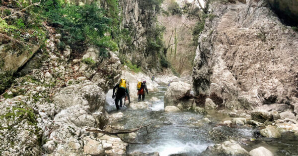 canyoning torrentismo molise recovery energy 5 Recovery Energy | Experience Emotions Canyoning Lazio, Abruzzo, Umbria. Escursionismo e Survival Canyoning in Molise