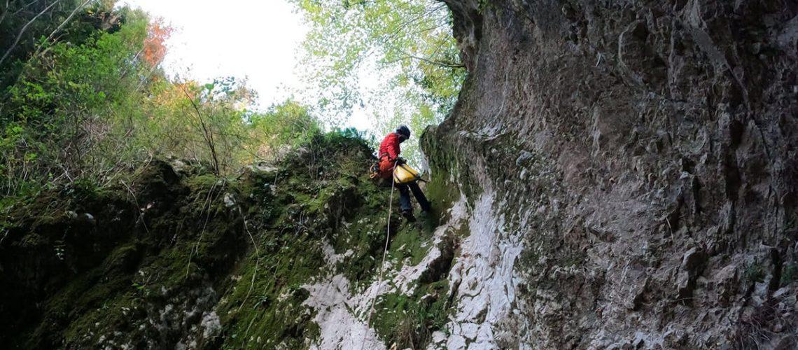 canyoning-lazio-torrentismo-rieti-forra-corbezzoli-secco-senza-acqua-recovery-energy