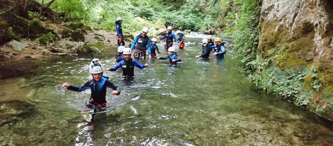 canyoning-roma-aniene-laghetto-san-benedetto-subiaco-recovery-energy