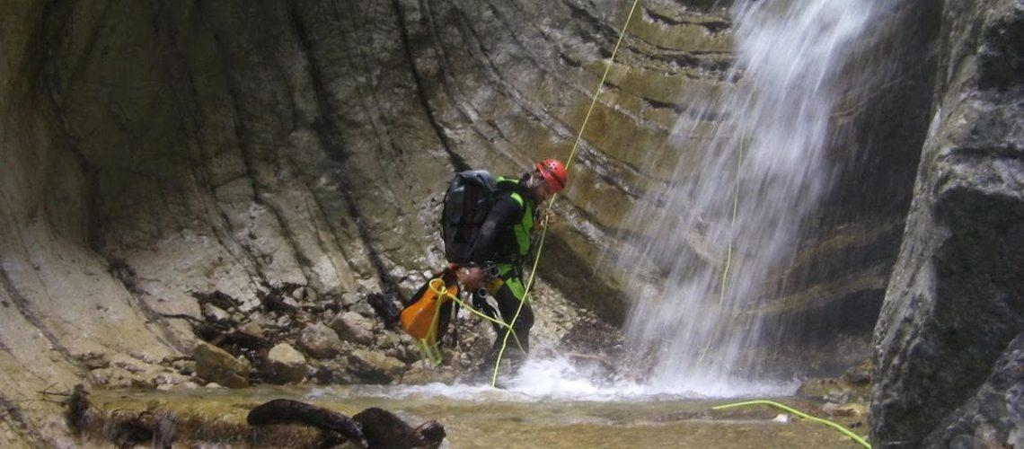 canyoning-torrentismo-abruzzo-gran-sasso-teramo-fossaceca-recovery-energy