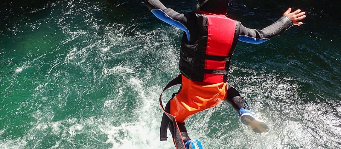 canyoning torrentismo aniene