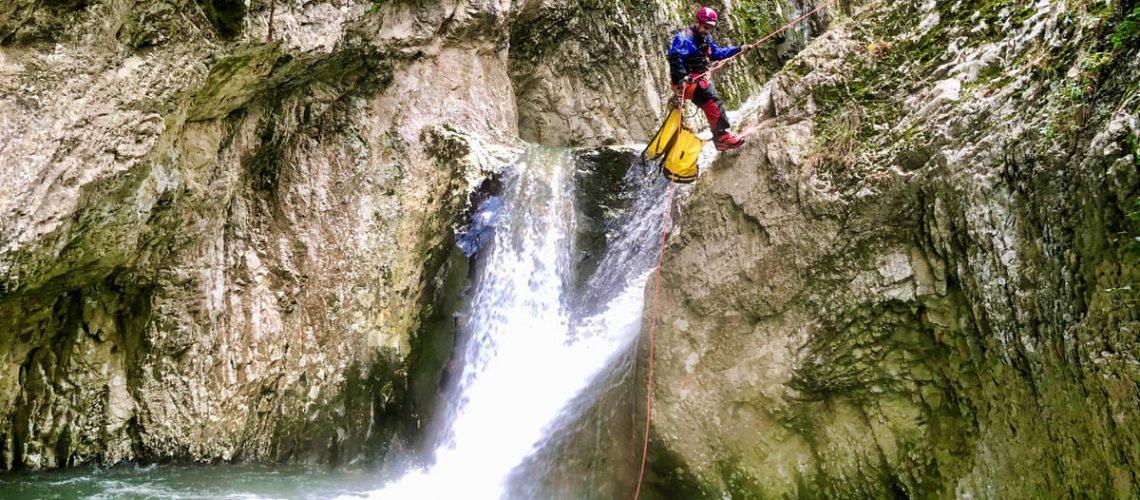 canyoning torrentismo molise recovery energy (4)