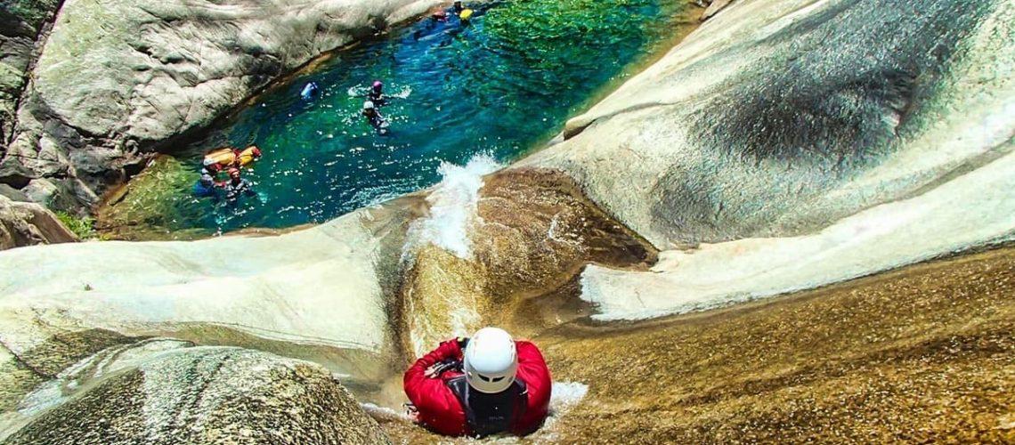 corso base canyoning open canyoneer recovery energy